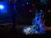 Margaret Craig - Luminaria 2016 - Carver Community Cultural Center - Out into the courtyard