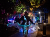 Margaret Craig - Luminaria 2016 - Carver Community Cultural Center - Past the stage and approaching the theater