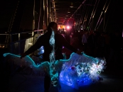 Margaret Craig - Luminaria 2016 - Hays Street Bridge - The Albatross - Thanks to everyone who came out