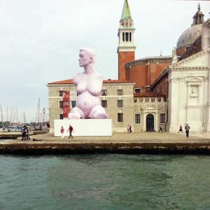 Marc Quinn Sculpture - Venice Biennale