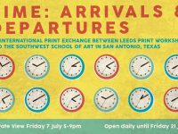 Leeds Print Workshop: Arrivals & Departures